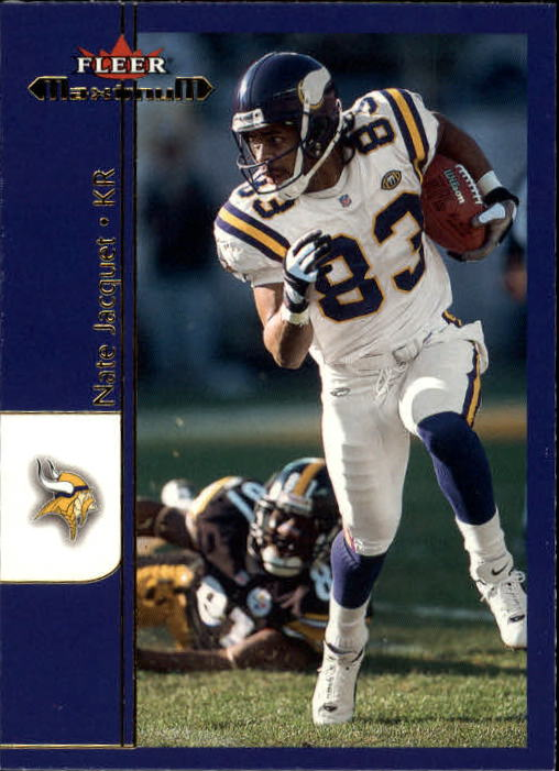 2002 Fleer Maximum #131 Nate Jacquet