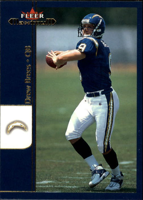 2002 Fleer Maximum #184 Drew Brees