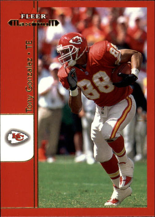 2002 Fleer Maximum #236 Tony Gonzalez