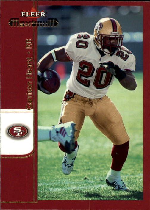 2002 Fleer Maximum #242 Garrison Hearst