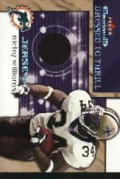 2002 Fleer Maximum Dressed to Thrill #19 Ricky Williams