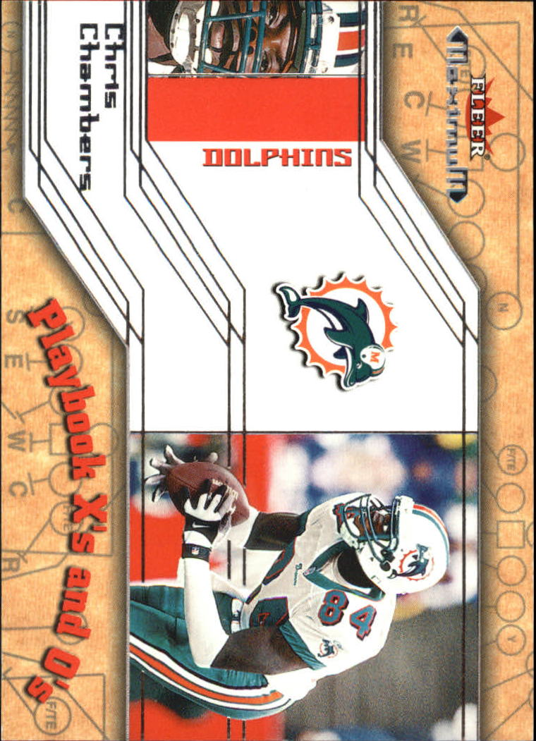 2002 Fleer Maximum Playbook X's and O's #5 Chris Chambers