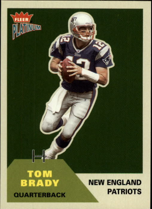 2002 Fleer Platinum #2 Tom Brady