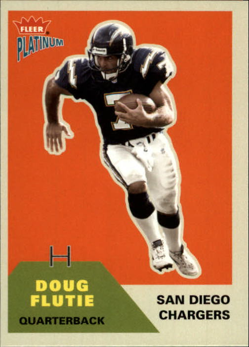 2002 Fleer Platinum #13 Doug Flutie