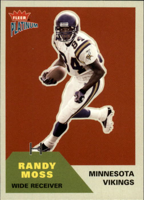 2002 Fleer Platinum #33 Randy Moss