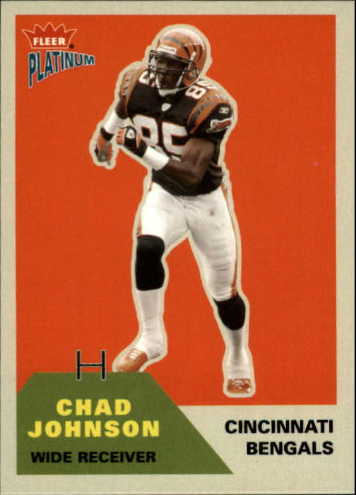 2002 Fleer Platinum #75 Chad Johnson