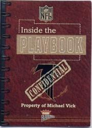 2002 Fleer Platinum Inside the Playbook #2 Michael Vick
