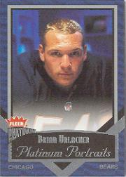 2002 Fleer Platinum Portraits #15 Brian Urlacher