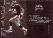2002 Fleer Premium All-Rookie Team Memorabilia #1 T.J. Duckett