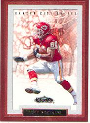 2002 Fleer Showcase #7 Tony Gonzalez