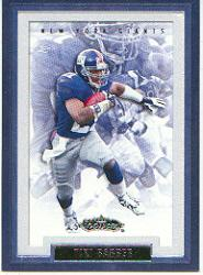 2002 Fleer Showcase #35 Tiki Barber