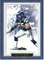 2002 Fleer Showcase #46 Junior Seau