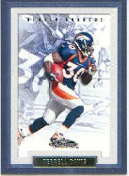 2002 Fleer Showcase #48 Terrell Davis