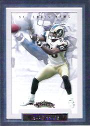2002 Fleer Showcase #63 Isaac Bruce