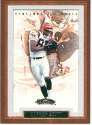 2002 Fleer Showcase #65 Darnay Scott