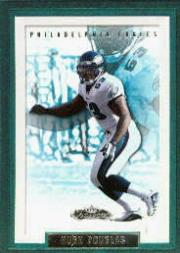 2002 Fleer Showcase #68 Hugh Douglas