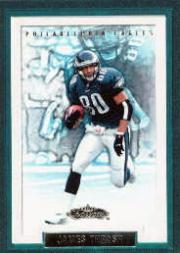 2002 Fleer Showcase #73 James Thrash