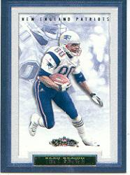 2002 Fleer Showcase #82 Troy Brown