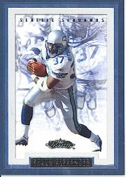 2002 Fleer Showcase #84 Shaun Alexander