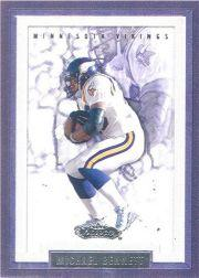 2002 Fleer Showcase #87 Michael Bennett