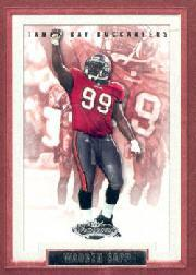 2002 Fleer Showcase #98 Warren Sapp