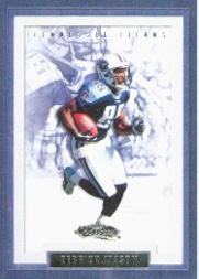2002 Fleer Showcase #115 Derrick Mason