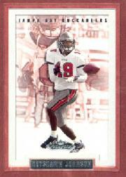 2002 Fleer Showcase #120 Keyshawn Johnson