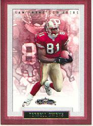 2002 Fleer Showcase #124 Terrell Owens