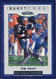 2002 Fleer Showcase #126 Tom Brady AC