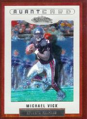 2002 Fleer Showcase #131 Michael Vick AC