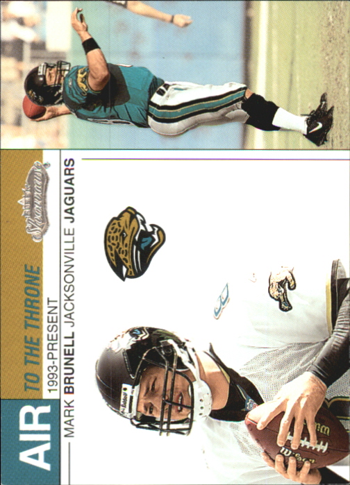 2002 Fleer Showcase Air to the Throne #AT1 Mark Brunell