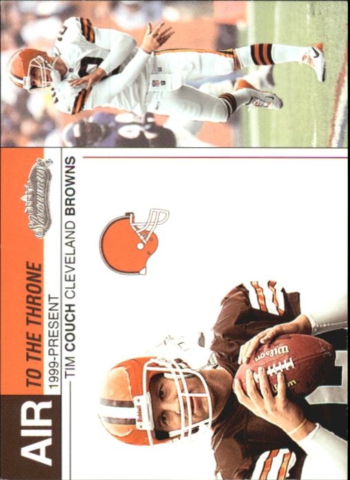 2002 Fleer Showcase Air to the Throne #AT2 Tim Couch