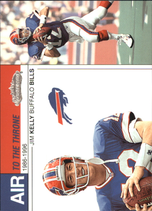 2002 Fleer Showcase Air to the Throne #AT14 Jim Kelly