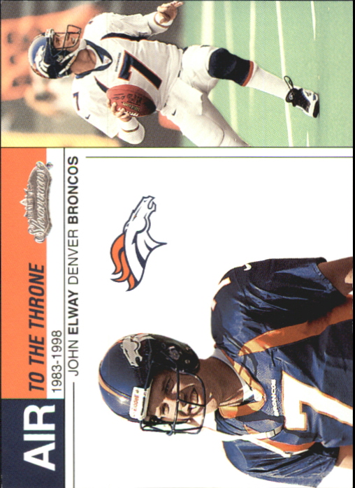 2002 Fleer Showcase Air to the Throne #AT15 John Elway