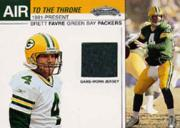 2002 Fleer Showcase Air to the Throne Jerseys #6 Brett Favre