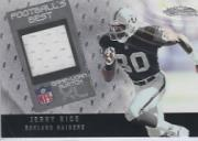 2002 Fleer Showcase Football's Best Memorabilia #FB26 Jerry Rice