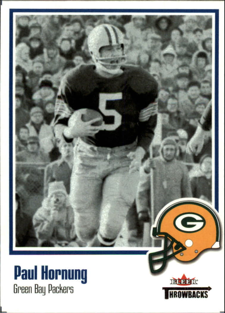 2002 Fleer Throwbacks #5 Paul Hornung