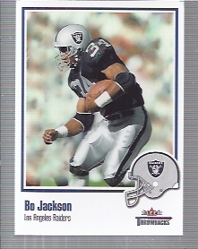 2002 Fleer Throwbacks #9 Bo Jackson