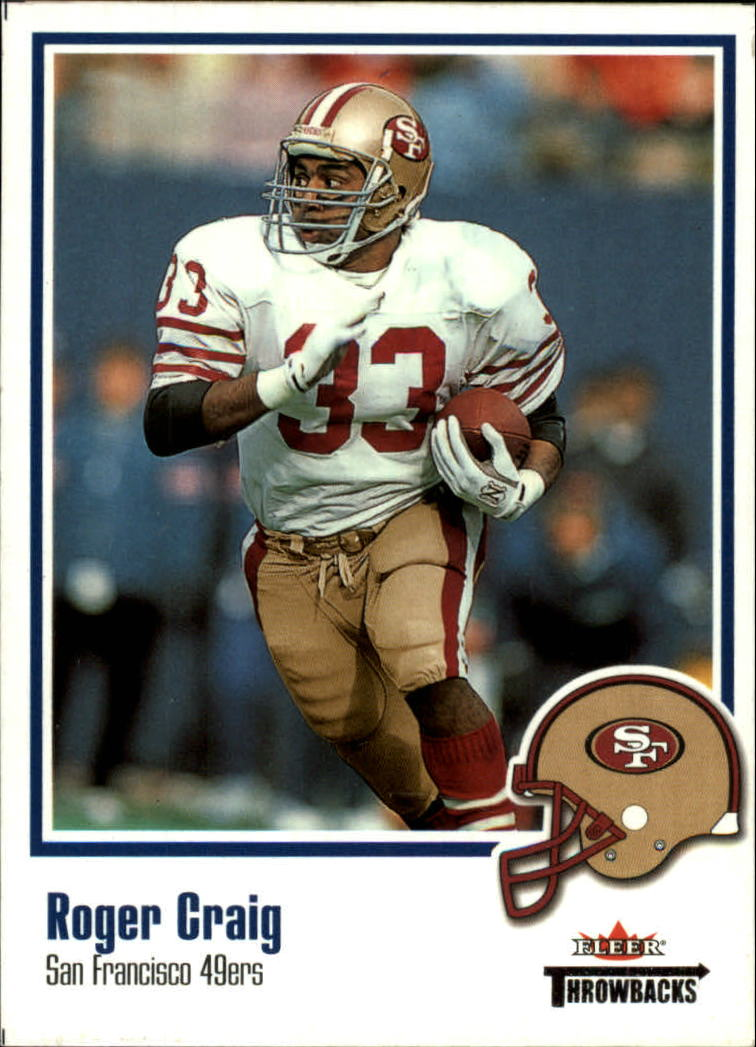 2002 Fleer Throwbacks #14 Roger Craig