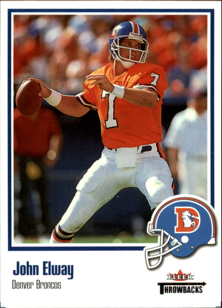 2002 Fleer Throwbacks #42 John Elway