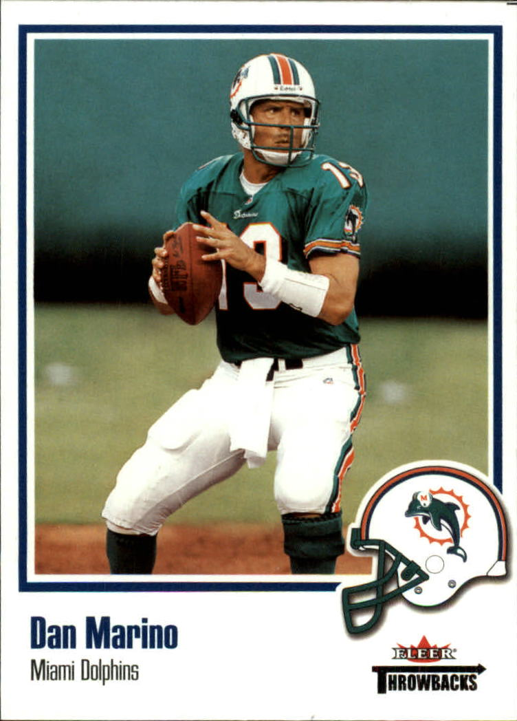 2002 Fleer Throwbacks #54 Dan Marino