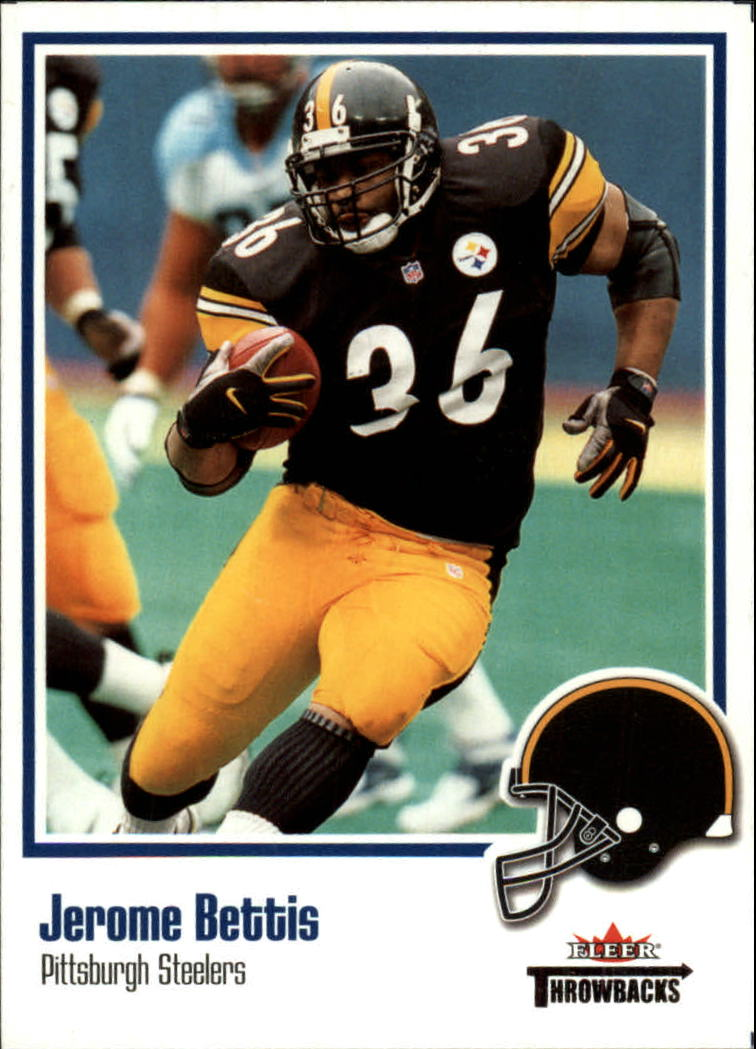 2002 Fleer Throwbacks #65 Jerome Bettis