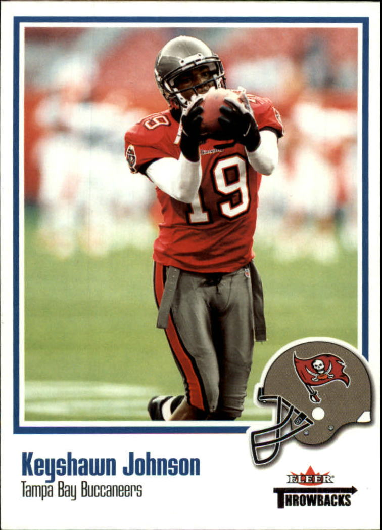 2002 Fleer Throwbacks #71 Keyshawn Johnson