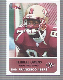 2002 Fleer Tradition #65 Terrell Owens