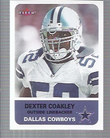 2002 Fleer Tradition #101 Dexter Coakley
