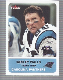 2002 Fleer Tradition #183 Wesley Walls front image