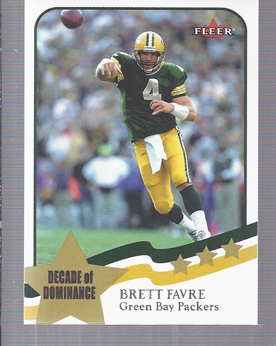 2002 Fleer Tradition #238 Brett Favre DD