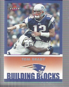 2002 Fleer Tradition #256 Tom Brady BB