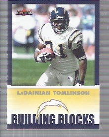 2002 Fleer Tradition #258 LaDainian Tomlinson BB