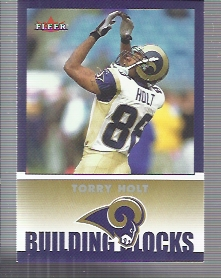 2002 Fleer Tradition #260 Torry Holt BB